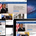 白宮官網更新:響應式網頁設計
